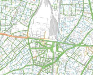 品川区の指定道路図